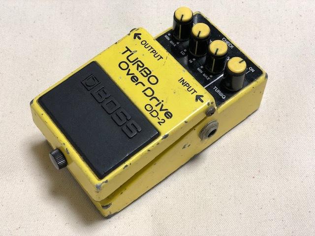 """BOSS""""OD-2 TURBO OverDrive(日本製)""""_e0052576_00204670.jpg"""