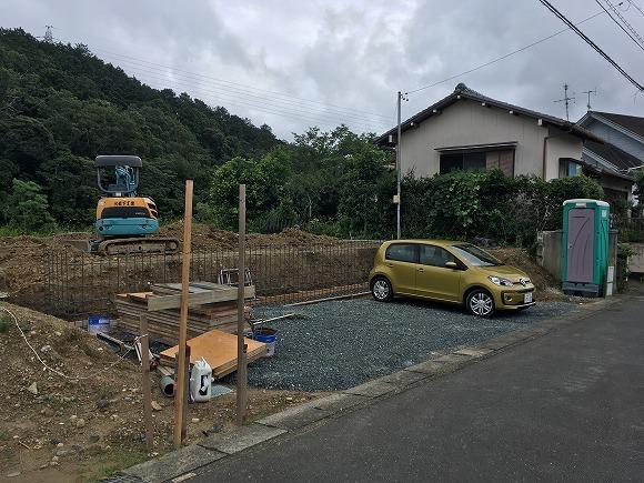富塚 新川沿いの自然を望む天然素材の家 ★基礎工事_d0205883_12104513.jpg