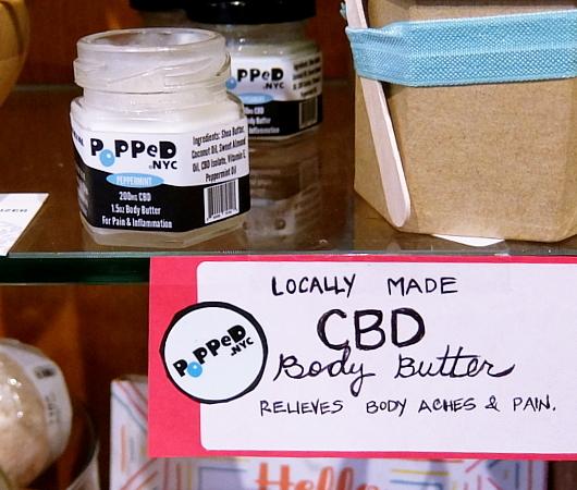 "NYの雑貨屋さんで、NY産""CBD""入りボディ・バター発見!! Popped.NYC CBD Body Butter_b0007805_23382321.jpg"