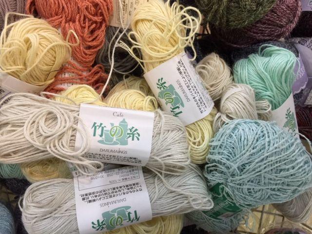 倉庫整理の掘り出し物 その5「竹の編み糸」_d0156706_13410410.jpg