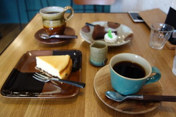Cafe Grass Hopperさんで美味しいチーズケーキ_e0230011_17083890.jpg