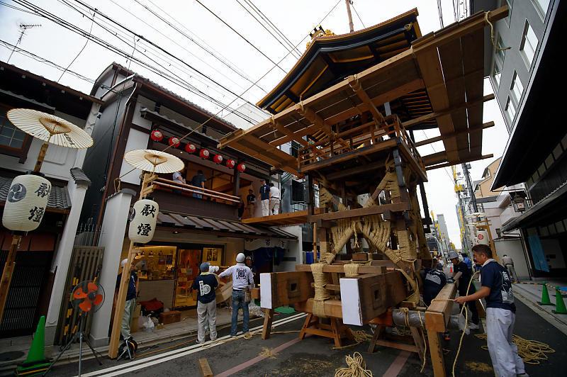 2019祇園祭後祭・山鉾建て 其の二_f0032011_19155481.jpg