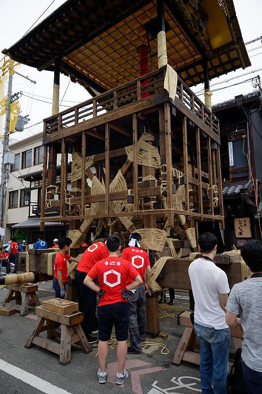 2019祇園祭後祭・山鉾建て 其の三_f0032011_21223147.jpg