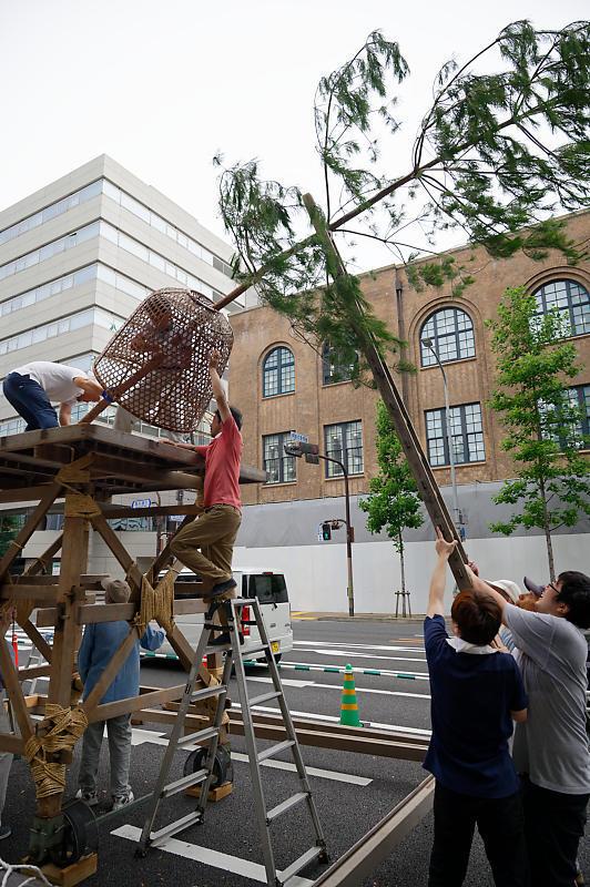 2019祇園祭後祭・山鉾建て 其の三_f0032011_21302159.jpg