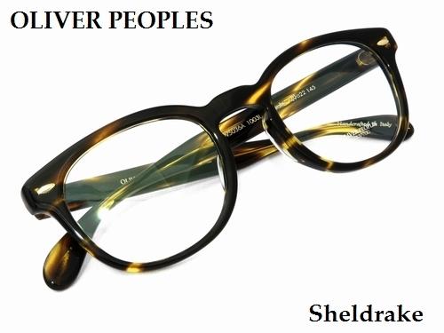 OLIVER PEOPLES 名作モデル「Sherdrake」を入荷しました! by甲府店_f0076925_13530086.jpg