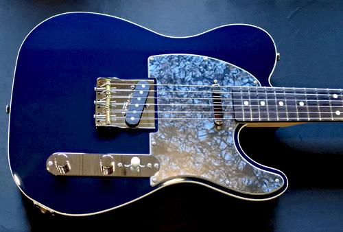 「Night Blue MetallicのStandard-T 2S」1本目が完成!_e0053731_17441387.jpg