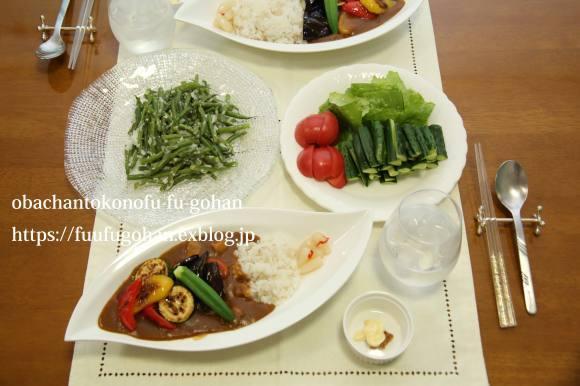 夏カレーディナー&昨日の女子会_c0326245_11261757.jpg