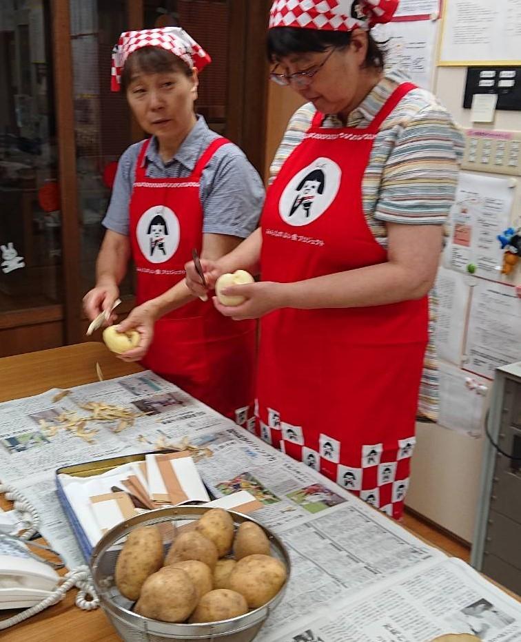 愛菜カレーの日_b0270977_22370293.jpg