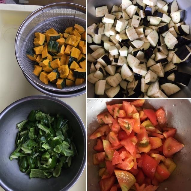 愛菜カレーの日_b0270977_22421186.jpg