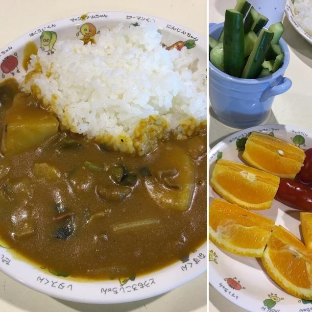 愛菜カレーの日_b0270977_22544265.jpg