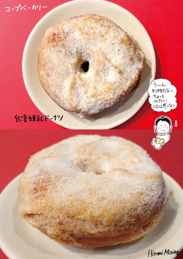 【スーパーのパン屋さん】コープベーカリー「台湾練乳ドーナツ」【似ているけど別物】_d0272182_21105616.jpg