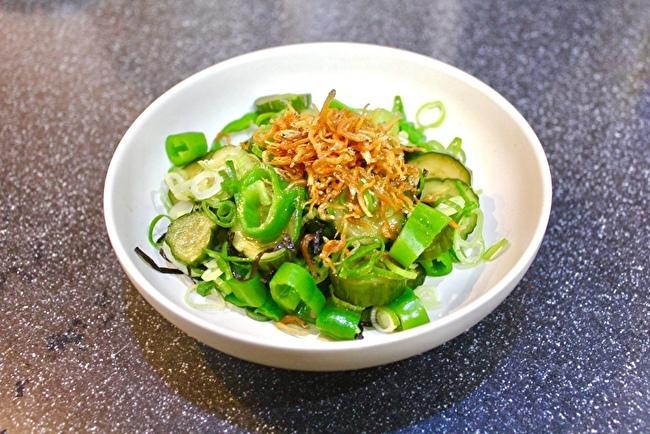 サラダキンパと鴨ローストサラダ、夏野菜のかき揚げ。_a0223786_15144714.jpg