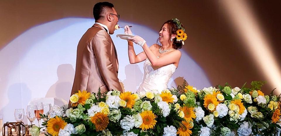 入来建武選手ご夫妻、ご結婚おめでとうございます!_c0186691_10094807.jpg