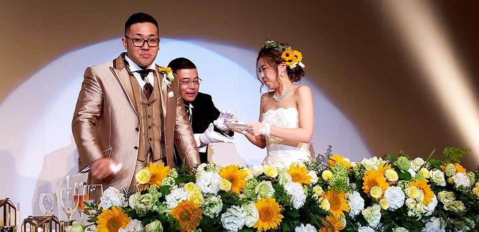 入来建武選手ご夫妻、ご結婚おめでとうございます!_c0186691_10141255.jpg