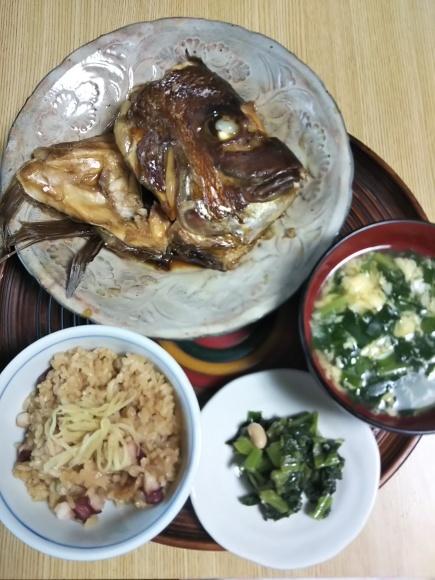 鯛のアラがお気に入り(^▽^)/タコ飯もしたよ!_f0316507_20521700.jpg