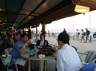 地中海ビーチ、バルセロネータ!_d0091909_17541906.jpg