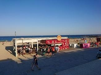 地中海ビーチ、バルセロネータ!_d0091909_17541909.jpg