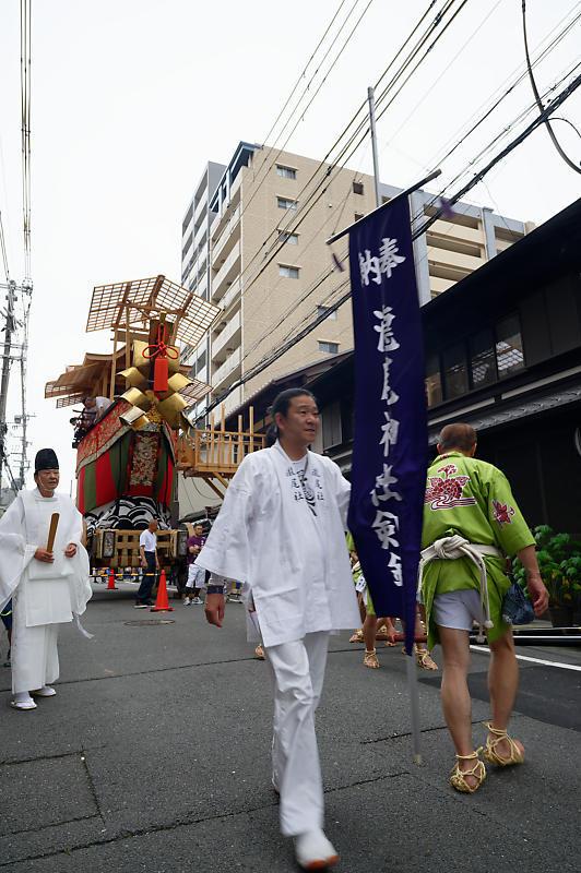 2019祇園祭後祭・大船鉾剣鉾差し上げ_f0032011_19593910.jpg
