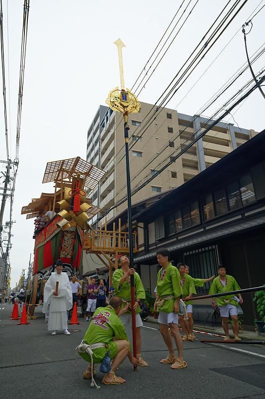 2019祇園祭後祭・大船鉾剣鉾差し上げ_f0032011_19593926.jpg