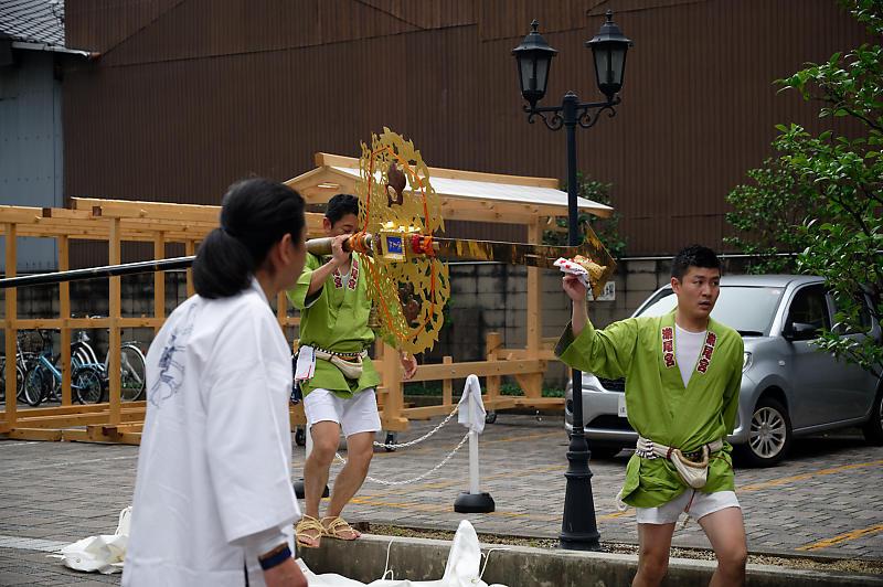 2019祇園祭後祭・大船鉾剣鉾差し上げ_f0032011_19593996.jpg