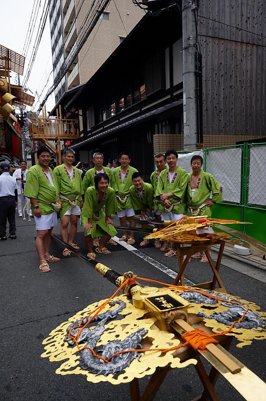 2019祇園祭後祭・大船鉾剣鉾差し上げ_f0032011_20021343.jpg