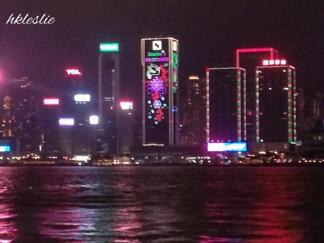維多利亞港聖誕夜景の見納め_b0248150_07013530.jpg