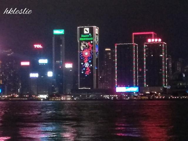 維多利亞港聖誕夜景の見納め_b0248150_07015945.jpg