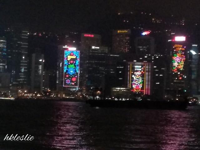維多利亞港聖誕夜景の見納め_b0248150_07041246.jpg