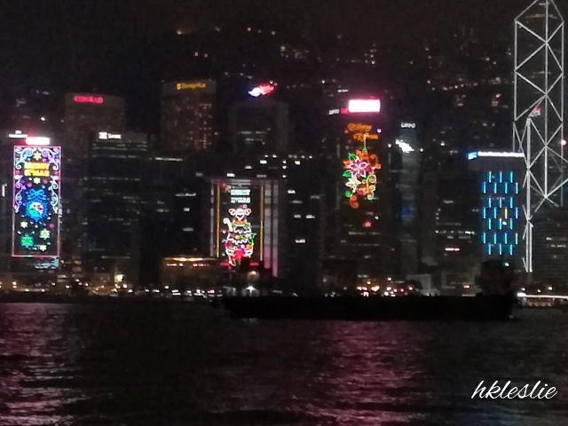 維多利亞港聖誕夜景の見納め_b0248150_07051901.jpg