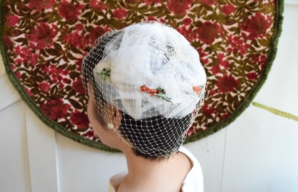 ♢♦︎ wedding headdress ♦︎♢_e0148852_17094153.jpg