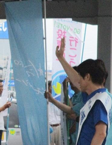 2019年参議院選挙 野党統一候補・梅村慎一さんを応援(4)_f0197754_00451497.jpg