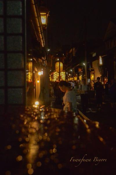 京都祇園祭後祭 映り込み **_d0344864_23303027.jpg