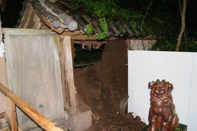 降り続いた雨での被害 R1.07.24_f0191383_13492202.jpg