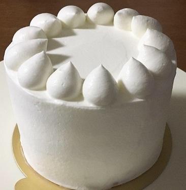 100均12cm型でメロンのケーキ♪_f0231189_21145079.jpg