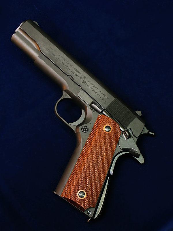 MULE &TANIO.KOBAコラボ   M1911A1ミリタリー GM-7.5 ブラックHW_f0131995_13543238.jpg