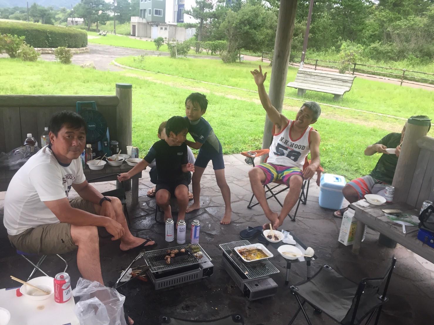 サーフィン部BBQ @大谷海岸_e0115904_10263981.jpg