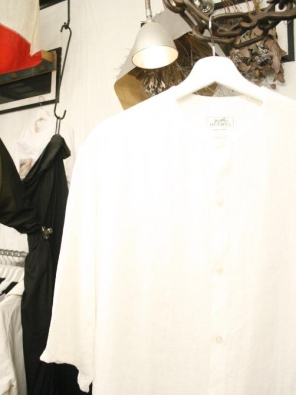 ちゃんとしたショップカード、作ります!! 入荷HERMES/エルメス リネンシャツ、ポケットTシャツ、Tシャツ_f0180307_01101568.jpg