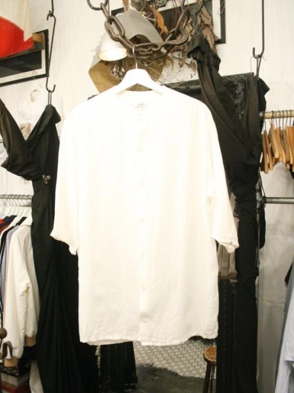 ちゃんとしたショップカード、作ります!! 入荷HERMES/エルメス リネンシャツ、ポケットTシャツ、Tシャツ_f0180307_01101638.jpg