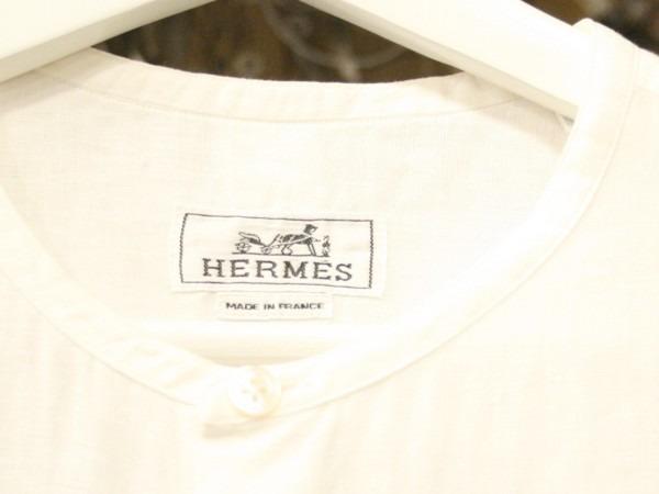 ちゃんとしたショップカード、作ります!! 入荷HERMES/エルメス リネンシャツ、ポケットTシャツ、Tシャツ_f0180307_01110557.jpg