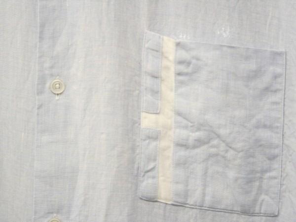 ちゃんとしたショップカード、作ります!! 入荷HERMES/エルメス リネンシャツ、ポケットTシャツ、Tシャツ_f0180307_01141831.jpg