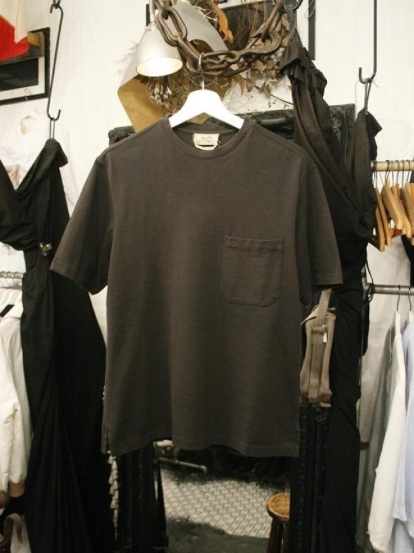 ちゃんとしたショップカード、作ります!! 入荷HERMES/エルメス リネンシャツ、ポケットTシャツ、Tシャツ_f0180307_01174909.jpg
