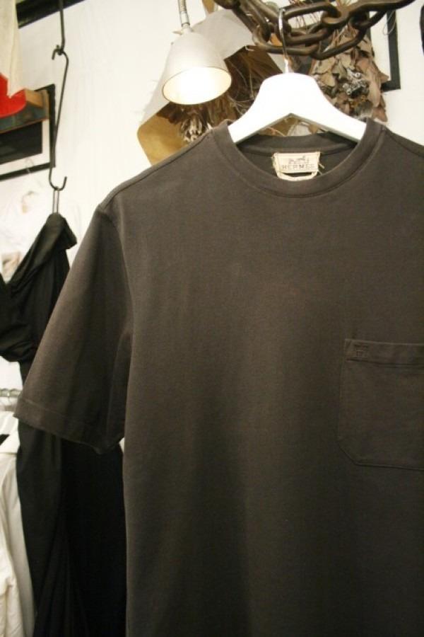 ちゃんとしたショップカード、作ります!! 入荷HERMES/エルメス リネンシャツ、ポケットTシャツ、Tシャツ_f0180307_01175020.jpg
