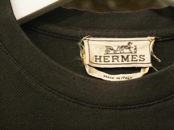 ちゃんとしたショップカード、作ります!! 入荷HERMES/エルメス リネンシャツ、ポケットTシャツ、Tシャツ_f0180307_01200293.jpg