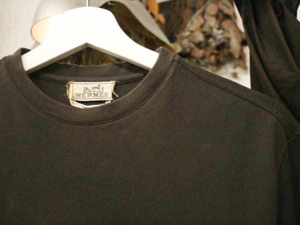 ちゃんとしたショップカード、作ります!! 入荷HERMES/エルメス リネンシャツ、ポケットTシャツ、Tシャツ_f0180307_01200326.jpg