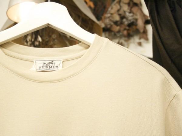 ちゃんとしたショップカード、作ります!! 入荷HERMES/エルメス リネンシャツ、ポケットTシャツ、Tシャツ_f0180307_01211634.jpg
