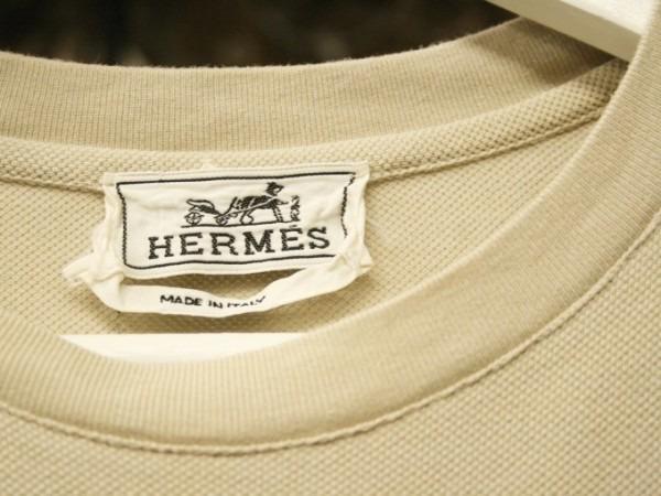 ちゃんとしたショップカード、作ります!! 入荷HERMES/エルメス リネンシャツ、ポケットTシャツ、Tシャツ_f0180307_01211785.jpg