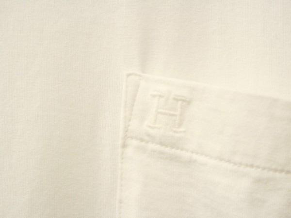 ちゃんとしたショップカード、作ります!! 入荷HERMES/エルメス リネンシャツ、ポケットTシャツ、Tシャツ_f0180307_01230429.jpg