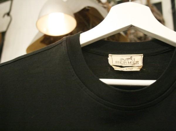 ちゃんとしたショップカード、作ります!! 入荷HERMES/エルメス リネンシャツ、ポケットTシャツ、Tシャツ_f0180307_01263682.jpg