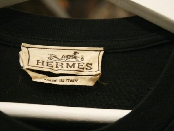 ちゃんとしたショップカード、作ります!! 入荷HERMES/エルメス リネンシャツ、ポケットTシャツ、Tシャツ_f0180307_01264943.jpg