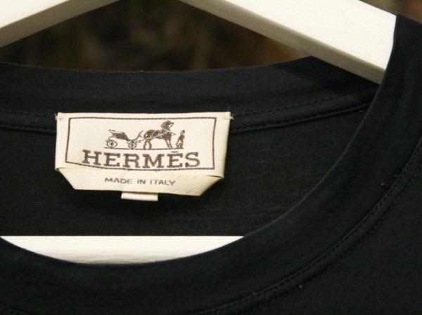 ちゃんとしたショップカード、作ります!! 入荷HERMES/エルメス リネンシャツ、ポケットTシャツ、Tシャツ_f0180307_01291023.jpg